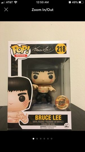 Bruce Lee 218 bait Vaulted Funko Pop. for Sale in Artesia, CA