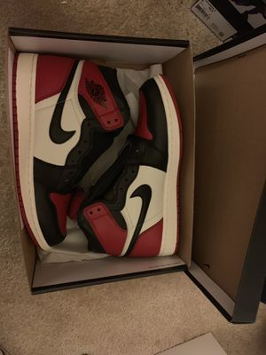 Air Jordan 1 bred toe size 9.5 brand new for Sale in Washington, DC