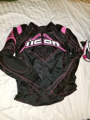 Motorcycle jacket and helmet for Sale in Cleveland, OH