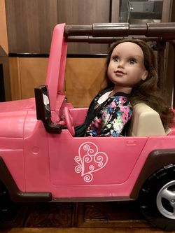 Delux 12 Inch Doll Jeep. for Sale in Pompano Beach,  FL