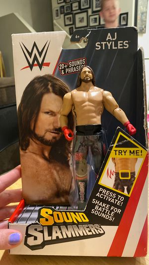 Never opened, AJ Styles Character for Sale in Las Vegas, NV