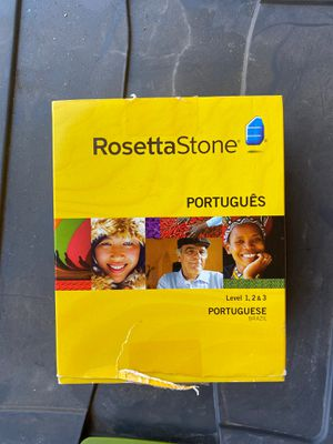 Rosetta Stone Portuguese for Sale in San Diego, CA