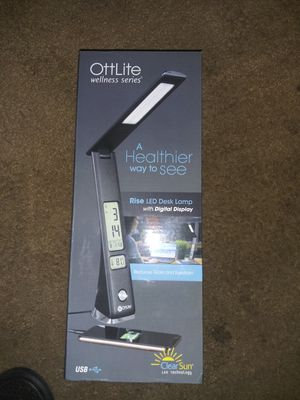 OttLite desk lamp for Sale in Tacoma, WA