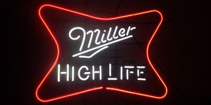 """Miller High Life Bar Decor Pub Acrylic Real Glass Neon Light Sign 24"""" for Sale in Sunset, LA"""