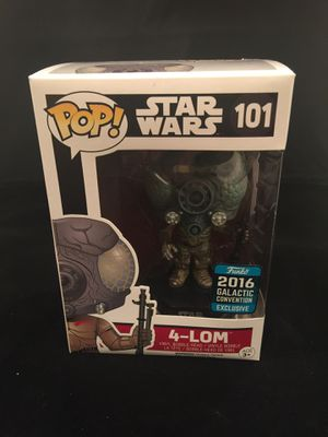 Funko Pop Star Wars 4-LOM for Sale in Takoma Park, MD