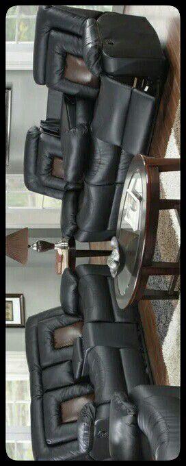🆕SET🆕 GT Cobra Black Reclining Sofa & Loveseat for Sale in Mount Rainier, MD