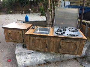 Sink and propane stove for Sale in Los Angeles, CA