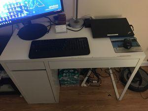 IKEA Desk, White, 41 3/8 x 19 5/8 inches for Sale in Medford, MA