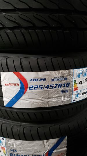 Saferich tires!!!! for Sale in Baldwin Park, CA