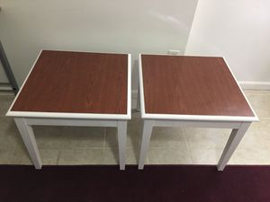2 End tables / side tables for Sale in Springfield, VA