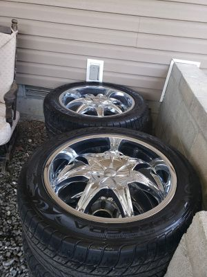 crome rims. for Sale in White Hall, AR