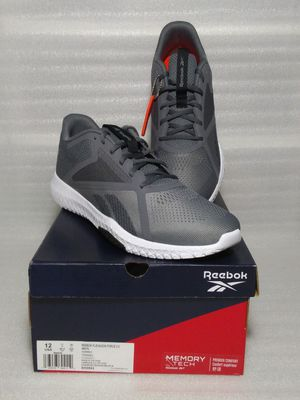 Reebok sneakers. Size 12 men's shoes. Grey. Brand new in box for Sale in Suffolk, VA
