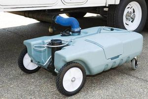 Rv travel trailer camper portable waste holding tank for Sale in Miami, FL