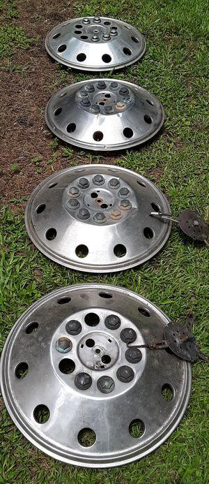 4 Rv Hub Caps For 19.5 Wheel for Sale in Stockbridge, GA
