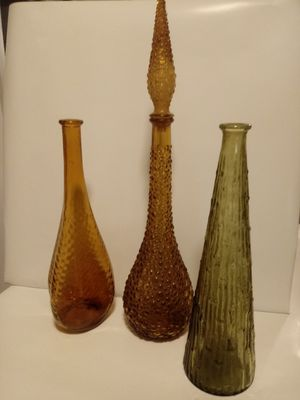 Mid Century Italian bottles for Sale in Frederick, MD
