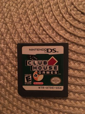 Nintendo ds club house games for Sale in Visalia, CA