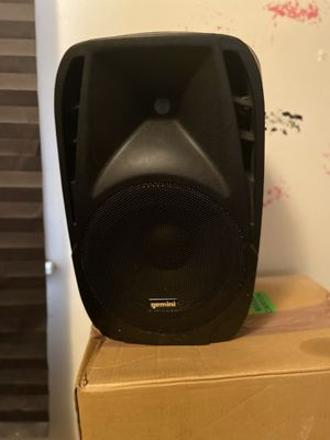 Party speakers with stands mixing board and microphone for Sale in Raleigh, NC