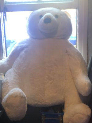 Giant white teddy bear for Sale in Los Angeles, CA