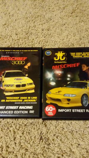 Mischief & Mischief 3000 DVD Combo for Sale in Las Vegas, NV