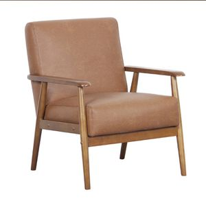 Faux leather accent chairs, 2 brand new in box for Sale in Carlsbad, CA
