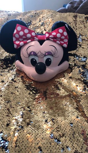 Minnie Mouse Character Face Hat Disney parks Collectible for Sale in Pleasant Hill, IA
