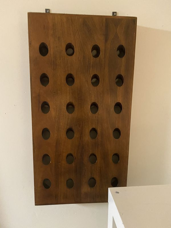 Designer CBQ Wall wine holder