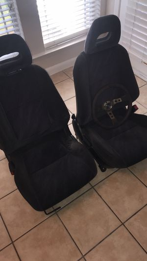 Acura integra seats + NRG WHEEL 💺 for Sale in Winter Garden, FL