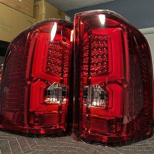 2007 - 2013 Silverado 1500 Silverado 2500 HD 3500 New Gen Replacement LED C-Streak Tail Lights Red for Sale in La Puente, CA