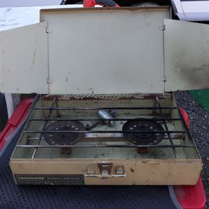 Vintage Trailblazer Outdoor Camping Cook Stove Propane for Sale in Medford, OR