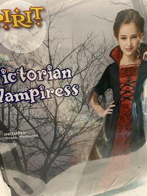 Girls Vampire costume size small 4-6 Halloween for Sale in Gilbert, AZ