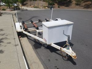 Double jet ski trailer for Sale in Poway, CA