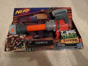 Nerf zombie strike survival - Chopstock for Sale in Marietta, GA