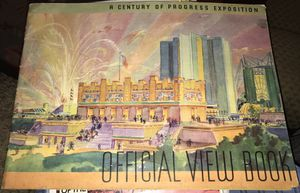 1933 Century of Progress Official View Book for Sale in Ponte Vedra Beach, FL
