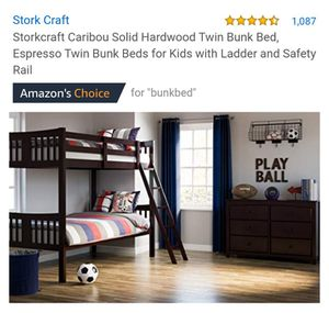 Great Bunk Beds $50 for Sale in San Marcos, CA