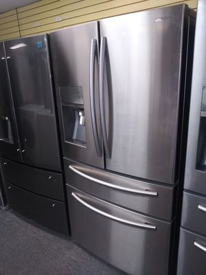 """👍🔥🔥 Samsung 36""""wide 4 French doors stainless steel refrigerator in great condition for Sale in Laurel, MD"""