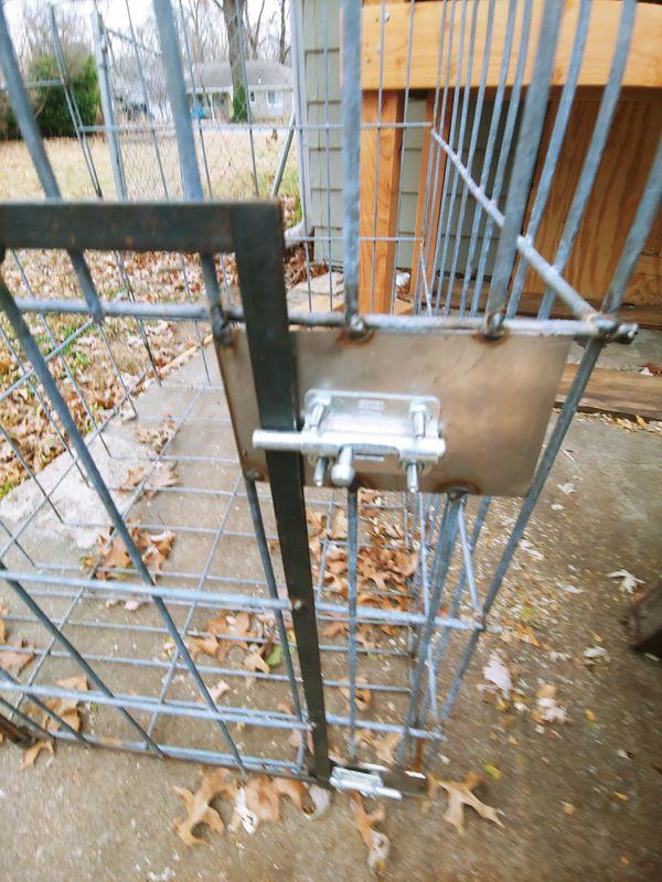 Custom built dog kennel