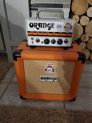 Orange guitar amp PPC-108 with micro terror head. Works Great for Sale in Toledo, OH