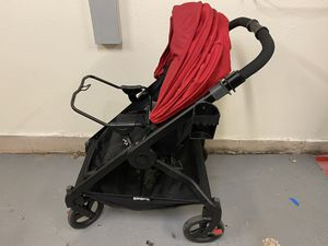 Ergobaby 180 stroller w/graco car seat adapter for Sale in Virginia Beach, VA