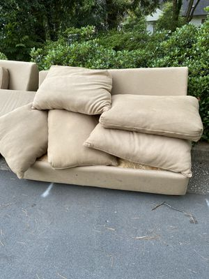 Three piece sectional FREE for Sale in Raleigh, NC