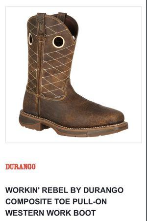 Durango work boots for Sale in Bakersfield, CA