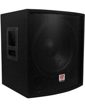 "Rockville SBG1158 15"" 800 Watt Passive Pro DJ Subwoofer. for Sale in Chicago, IL"