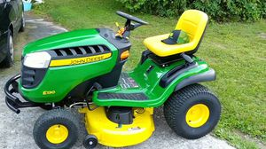 Brand new John Deere E130 22-HP V-twin Side By Side Hydrostatic 42-in Riding Lawn Mower with Mulching Capability (Kit Sold Separately) for Sale in Germantown, MD