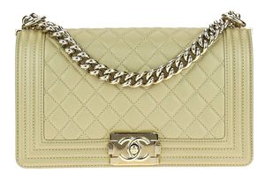 Chanel boy handbag gold for Sale in Arlington, VA