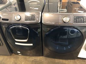 Samsung front load washer and gas dryer for Sale in San Luis Obispo, CA
