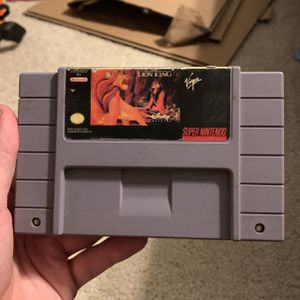 Lion King Snes Super Nintendo Game for Sale in Long Beach, CA