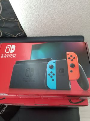 Brand new Nintendo Switch for Sale in Richardson, TX