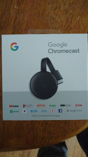 Google chromecast, New in Box (newest version) for Sale in Hanover, MD