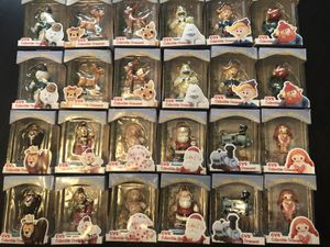 24 ornaments (1999 the island or misfit toys) for Sale in Troy, MI