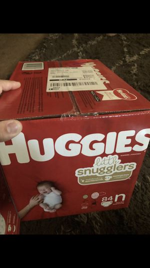148 ct huggies little snugglers newborn for Sale in Corona, CA
