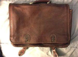 Genuine leather briefcase for Sale in Orlando, FL